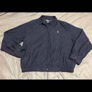 Polo Ralph Lauren Navy Blue Windbreaker Jacket
